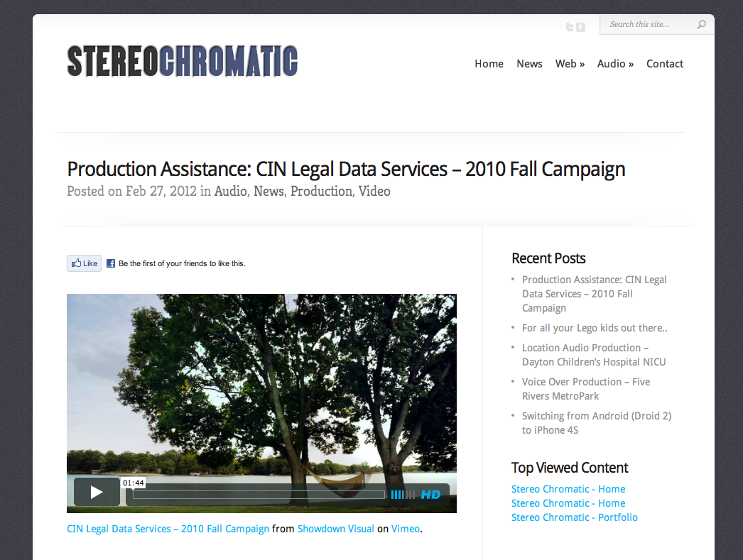 Production Assistance: CIN Legal Data Services